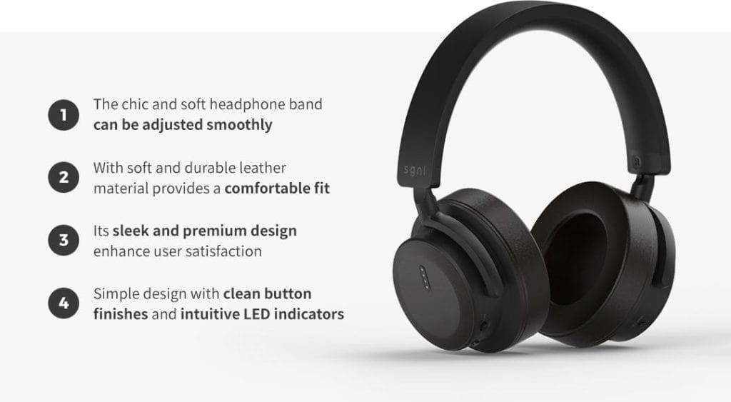 HB-V70 Smart Wireless Headphones