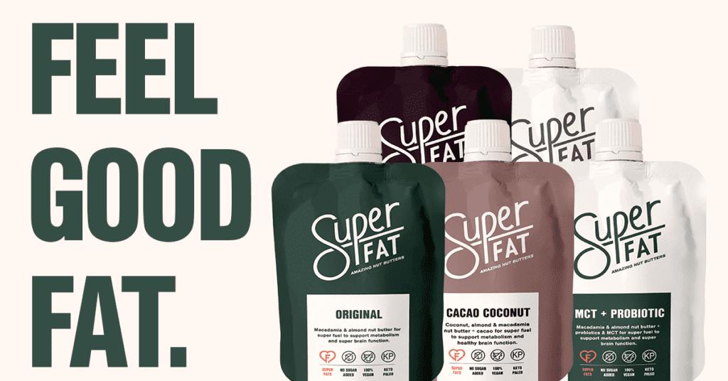 SuperFat nut butters header
