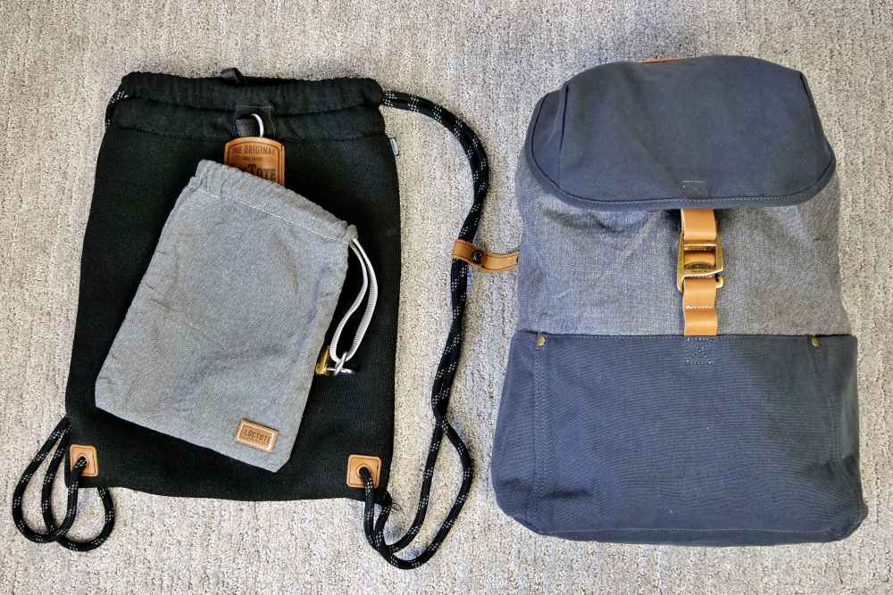 Loctote Cinch Pack: World's Most Secure Backpack
